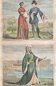 Portrait - Costume - XIVth Century - England - Officers - Court of Richard II - Sir William Beauchamp