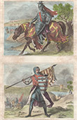 Portr�t - Tracht - XIV. Jahrhundert - England - Thomas Plantagenet, 2. Earl of Lancaster - Sir John de Sitsylt