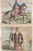 Porträten - Tracht - XIV. Jahrhundert - XV. Jahrhundert - Arthur Mac-Murroch, König von Leinster - Roger Walden, Bischof von London