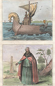 Anglo-Saxon Vessel - Costume - Priest - VIIth Century