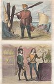 Kostüm  - XV. Jahrhundert - England - Fischer - Page unter der Herrschaft von Eduard IV.