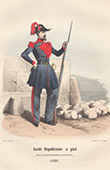 French Army - Military Uniform - Republican Guard's Infantry (1848)