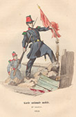 French Army - Military Uniform - National Guard (1848)