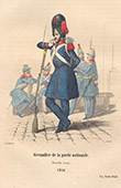 French Army - Military Uniform - Grenadier of the National Guard (1846)