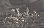 Dantes Inferno - H�lle - Gustave Dor� - Kapitel XXIV - Das Styx - Phlegias