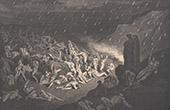 Dante's Hell - Inferno - Gustave Dor� - Chapter XXXVIII - Violents against God - Capaneus