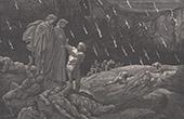 O Inferno de Dante - Gustave Dor� - Cap�tulo XXXIX - Brunetto Latini