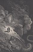 Dantes Inferno - H�lle - Gustave Dor� - Kapitel XL - Das Monster des Betruges