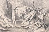 Dantes Inferno - H�lle - Gustave Dor� - Kapitel XLVI - D�monen - Barattieri - Concussori