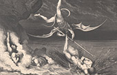 Dantes Inferno - H�lle - Gustave Dor� - Kapitel XLVIII - Barattieri - Ciampolo - Alichino