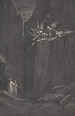 Dante's Hell - Inferno - Gustave Dor� - Chapter L - Alarm and Escape