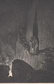 Dantes Inferno - Hölle - Gustave Doré - Kapitel LV - Betrügerisch Ratsherren - Odysseus