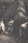 Dantes Inferno - Hölle - Gustave Doré - Kapitel LVI - Schism