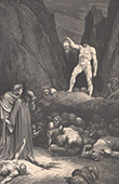 Dante's Hell - Inferno - Gustave Dor� - Chapter LVIII - Bertran de Born