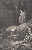 Dante's Hell - Inferno - Gustave Dor� - Chapter LIX - Geri del Bello