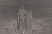 Dante's Hell - Inferno - Gustave Dor� - Chapter LXVII - Cocytus - Traitors