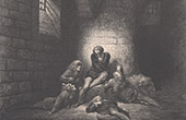 Dante's Hell - Inferno - Gustave Dor� - Chapter LXX - Ugolino