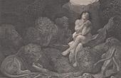 B�blia - Antigo Testamento - Profeta Daniel na cova dos le�es