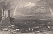 Vue du Mont Ararat (Turquie)