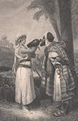 Bibel - Altes Testament - Elieser und Rebekka (Horace Vernet)