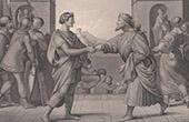 B�blia - Reconcilia��o de Herodes e Pilatus