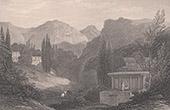 View of Khonos - Colossae - Phrygia - Anatolia - Asia Minor (Turkey)