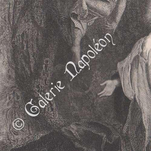 gravuras antigas gravura de jesus cristo em ora o no jardim. Black Bedroom Furniture Sets. Home Design Ideas