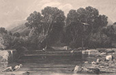 Jéricho - Fontaine d'Elisee - Ribhah - Terre Sainte - Palestine