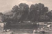 J�richo - Fontaine d'Elisee - Ribhah - Terre Sainte - Palestine