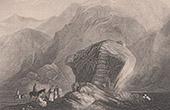 Vue du Sina� - Rocher de Mo�se (Egypte)
