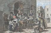 Kaufmann der Makkaroni - Neapel (Italien)