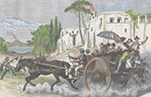 The Corricolo - Chariot - Travelers - Naples (Italy)