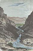 View of El Kantara Gorges - Biskra (Algeria)