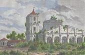Mission von Paraguay - Ruine von HI. MichaelKirche   (Paraguay)