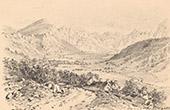 Vue du Mont Dore - Vall�e de la Dore - Village des Bains - Auvergne - Puy-de-D�me (France)