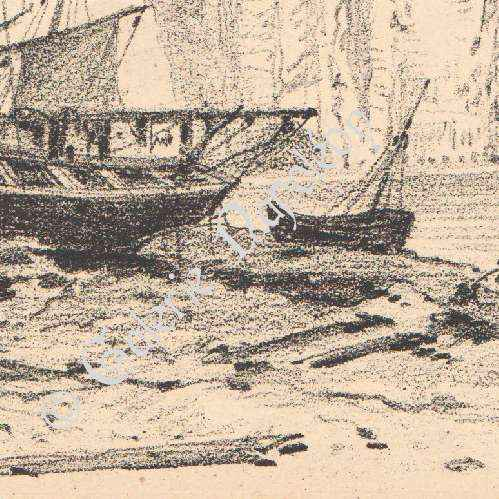 alte stiche ansicht von kliffk sten von etretat haute normandie seine maritime frankreich. Black Bedroom Furniture Sets. Home Design Ideas