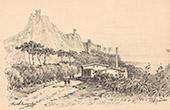 Hy�res Castle - Vestiges - Provence-Alpes-C�te d'Azur - Var (France)