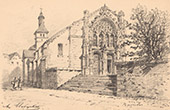 Church of Ravi�res - Burgundy-Franche-Comt� - Yonne (France)