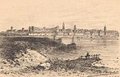 View of Arles - Church - Roman Amphitheater - Arles - Bouches-du-Rh�ne (France)