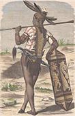 Dayak - Indigen Völker - Borneo (Indonesischer Archipel)