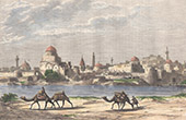 View of Mosul - Tigris River (Iraq)
