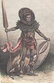 Massai-Krieger (Kenia)
