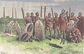 Guerreiros Masai (Quénia)