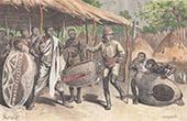 Krieger in Mandara - Kilimandscharo (Tansania)