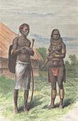 Young M'teita Girl and M'teita of Ndara - Massa� People (Kenya)