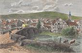 Ansicht von Stavelot - Provinz L�ttich (Belgien)