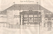 Drawing of Architect - Paris - Com�die-Fran�aise - Th��tre de l'Od�on (Marie-Joseph Peyre - Charles de Wailly)