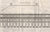 Drawing of Architect - Paris - Com�die-Fran�aise - Th��tre de l'Od�on - El�vation Lat�rale (Marie-Joseph Peyre - Charles de Wailly)