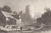Ansicht von Tretower - Tretower Court - Tretower Castle - Powys (Vereinigtes Königreich)