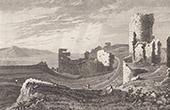 Aberystwyth Castle - Ceredigion - Cardiganshire - Wales (United Kingdom)